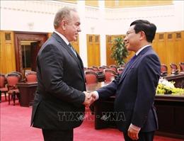 Phó Thủ tướng, Bộ trưởng Ngoại giao Phạm Bình Minh tiếp Đoàn doanh nghiệp Hoa Kỳ