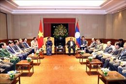 Chủ tịch Quốc hội Nguyễn Thị Kim Ngân hội kiến Tổng Bí thư, Chủ tịch nước Lào Bounnhang Vorachith