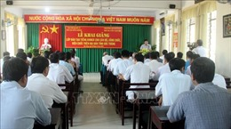 Dạy tiếng Khmer cho cán bộ, công chức, viên chức ở Sóc Trăng