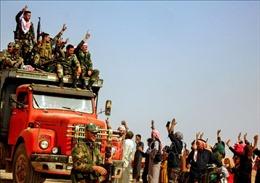 Syria tiếp tục triển khai quân đội tới giáp biên giới với Thổ Nhĩ Kỳ