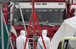 Vụ 39 thi thể trong xe tải: Đề nghị Anh hỗ trợ Đoàn công tác của Bộ Công an Việt Nam