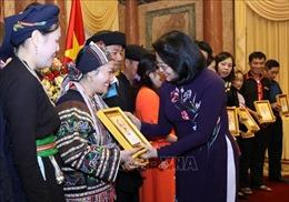 Phó Chủ tịch nước tiếp Đoàn đại biểu dân tộc thiểu số tiêu biểu tỉnh Hà Giang
