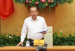 Phó Thủ tướng Trương Hòa Bình: Gắn hoạt động hợp tác quốc tế với bảo vệ chính trị nội bộ