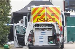 Cảnh sát Anh đang thúc đẩy việc xác nhận danh tính nạn nhân vụ 39 thi thể trong xe container