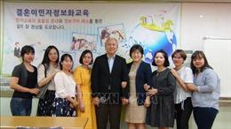 Cô dâu Việt chiếm tỷ lệ cao nhất trong các gia đình đa văn hóa Hàn Quốc