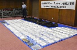 Nhật Bản thu giữ một số lượng cocaine kỷ lục 400kg