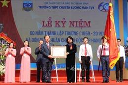 Kỷ niệm 60 năm thành lập trường chuyên Lương Văn Tụy