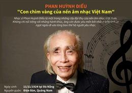 Phan Huỳnh Điểu - 'Con chim vàng của nền âm nhạc Việt Nam'