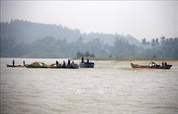 'Cát tặc' vẫn ngang nhiên lộng hành trên sông Trà Khúc, Quảng Ngãi