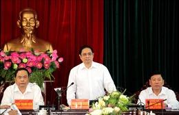 Trưởng Ban Tổ chức Trung ương làm việc với Ban Thường vụ Tỉnh ủy Vĩnh Long