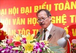 Ông Nông Quốc Bình tái đắc cử chức Chủ tịch Hội VHNT các dân tộc thiểu số Việt Nam