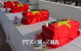 Tìm thấy hài cốt 17 chiến sĩ đặc công được chôn tập thể từ 50 năm trước