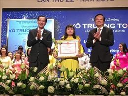 Vinh danh 50 nhà giáo, cán bộ quản lý nhận Giải thưởng Võ Trường Toản