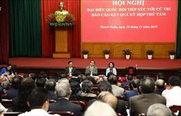 Đoàn Đại biểu Quốc hội thành phố Hà Nội tiếp xúc cử tri