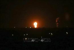 Israel không kích Dải Gaza đáp trả các vụ phóng rocket