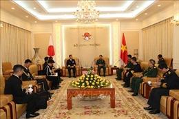 Tổng Tham mưu trưởng Quân đội nhân dân Việt Nam tiếp Tư lệnh Hải quân Nhật Bản