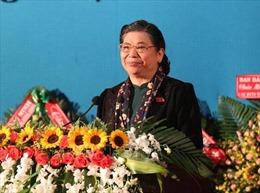 Phó Chủ tịch Thường trực Quốc hội Tòng Thị Phóng gặp mặt đại biểu cựu thanh niên xung phong tiêu biểu