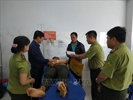 Thăm hỏi, động viên cán bộ kiểm lâm Vườn Quốc gia Yok Đôn bị hành hung trong lúc làm nhiệm vụ