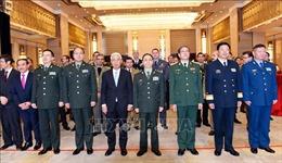 Kỷ niệm ngày thành lập QĐND Việt Nam và Ngày Quốc phòng toàn dân tại Trung Quốc