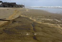 Lộ diện 'thủ phạm' khiến nước biển đổi sang màu cà phê ở Quảng Ngãi