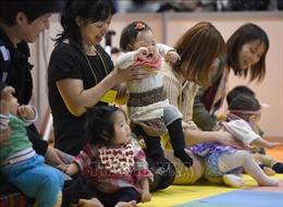Số lượng trẻ sơ sinh thấp kỷ lục tại Nhật Bản