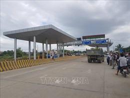 Tăng cường đảm bảo an ninh trật tự tại trạm thu phí BOT Ninh Xuân