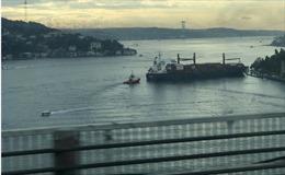 Tin thêm về vụ tàu chở hàng gặp nạn tại eo biển Bosphorus của Thổ Nhĩ Kỳ