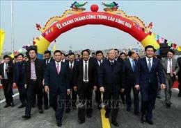 Khánh thành cầu sông Hóa nối Hải Phòng - Thái Bình