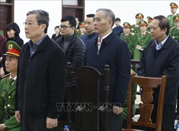 Hủy bỏ lệnh kê biên nhà của hai bị cáo Nguyễn Bắc Son và Trương Minh Tuấn