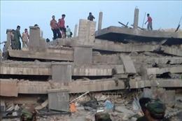 Chưa phát hiện nạn nhân gốc Việt trong vụ sập nhà 7 tầng đang thi công ở Campuchia