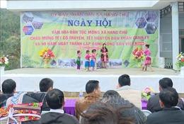 Đồng bào dân tộc Mông ở vùng cao Sơn La vui đón Tết truyền thống