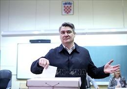 Cựu Thủ tướng Zoran Milanovic giành chiến thắng trong bầu cử tổng thống Croatia vòng 2