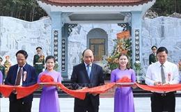 Thủ tướng Nguyễn Xuân Phúc dự Lễ khánh thành Đền thờ Liệt sỹ tại Quảng Nam