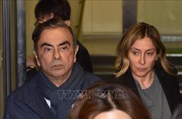 Cựu Chủ tịch Nissan C.Ghosn xuất hiện công khai trong cuộc họp báo tại Liban
