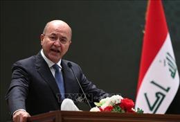 Tổng thống Iraq lên án các vụ tấn công bằng tên lửa của Iran