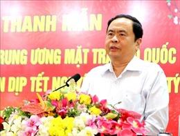 Chủ tịch Mặt trận Tổ quốc Việt Nam trao quà Tết cho người nghèo Lâm Đồng