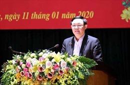 Phó Thủ tướng Vương Đình Huệ trao quà Tết cho gia đình chính sách tại Vĩnh Phúc