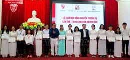 Trao 150 suất Học bổng Nguyễn Trường Tộ tặng sinh viên Đại học Huế