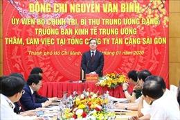Xây dựng Tân Cảng Sài Gòn thành tập đoàn kinh tế - quốc phòng hàng đầu Việt Nam