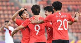 VCK U23 châu Á 2020: Thắng Jordan 2-1 ở phút 90+5, U23 Hàn Quốc vào bán kết