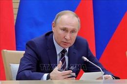 Tổng thống Nga V.Putin trình quốc hội văn kiện sửa đổi Hiến pháp