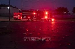 Nổ ở Texas: Cảnh sát cử đội đặc nhiệm đến dò tìm nguyên liệu nguy hiểm