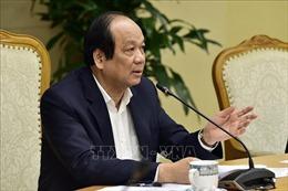 Bộ trưởng Mai Tiến Dũng: Phải 'tiêu diệt' văn bản nợ đọng, làm như chống dịch nCoV