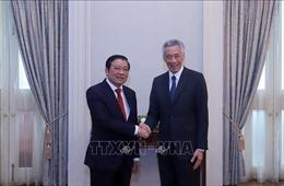 Singapore mong muốn đẩy mạnh quan hệ hợp tác nhiều mặt với Việt Nam