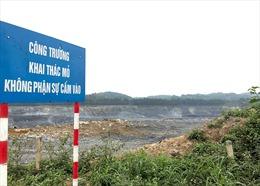 Tạm dừng nổ mìn khai thác đá làm xi măng ở Công ty Vicem Sông Thao