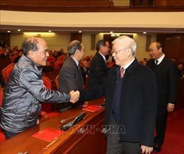 Tổng Bí thư, Chủ tịch nước chủ trì Hội nghị gặp mặt nguyên lãnh đạo cấp cao của Đảng, Nhà nước