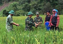 Dấu ấn quân hàm xanh nơi bản làng biên giới