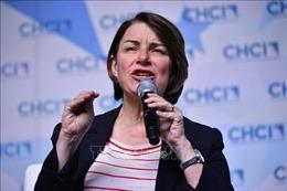 Bầu cử Mỹ 2020: Ứng cử viên Amy Klobuchar rời cuộc đua