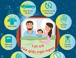 Lợi ích của giấc ngủ ngon