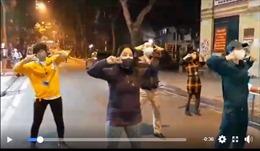 Dịch COVID-19: Người dân Trúc Bạch nhảy Ghen CoVy chào đón hết cách ly